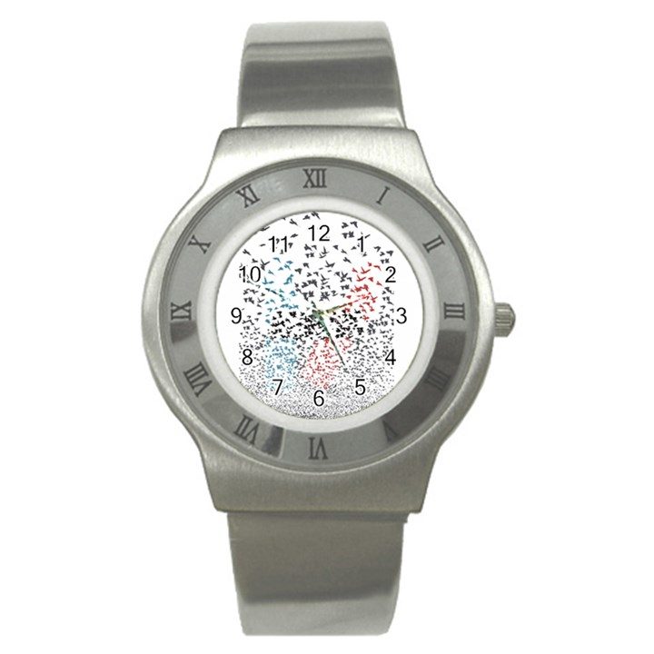 Twenty One Pilots Birds Stainless Steel Watch
