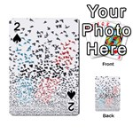 Twenty One Pilots Birds Playing Cards 54 Designs  Front - Spade2