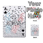 Twenty One Pilots Birds Playing Cards 54 Designs  Front - SpadeA