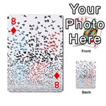Twenty One Pilots Birds Playing Cards 54 Designs  Front - Diamond8