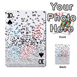 Twenty One Pilots Birds Playing Cards 54 Designs  Front - Spade10