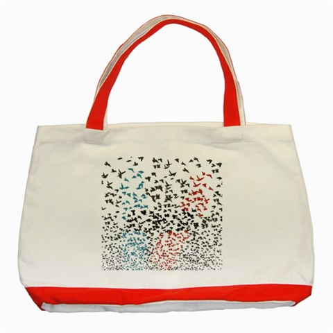 Twenty One Pilots Birds Classic Tote Bag (Red)