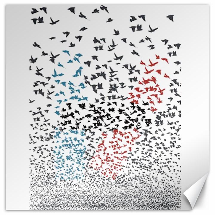 Twenty One Pilots Birds Canvas 16  x 16