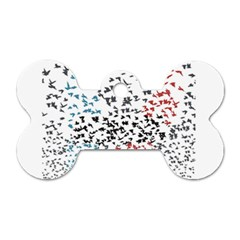 Twenty One Pilots Birds Dog Tag Bone (two Sides)