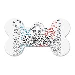 Twenty One Pilots Birds Dog Tag Bone (Two Sides) Back