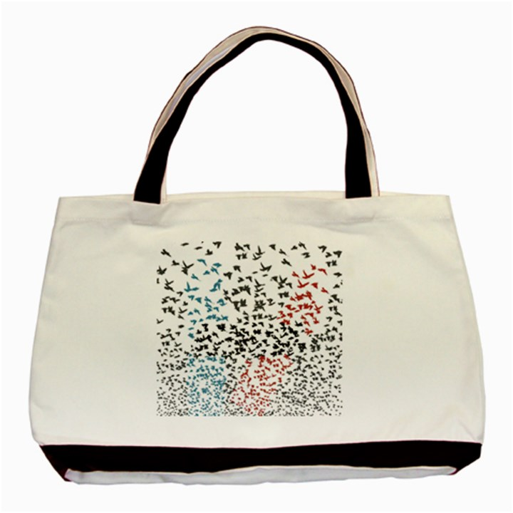 Twenty One Pilots Birds Basic Tote Bag (Two Sides)