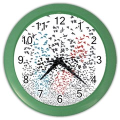Twenty One Pilots Birds Color Wall Clocks
