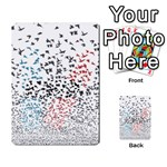 Twenty One Pilots Birds Multi-purpose Cards (Rectangle)  Back 47
