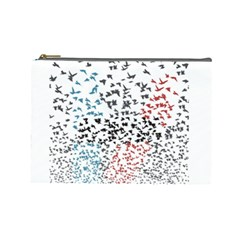 Twenty One Pilots Birds Cosmetic Bag (large)