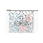 Twenty One Pilots Birds Cosmetic Bag (Large)  Front