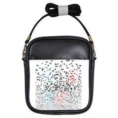 Twenty One Pilots Birds Girls Sling Bags