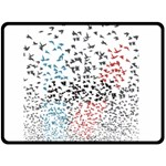 Twenty One Pilots Birds Fleece Blanket (Large)  80 x60 Blanket Front