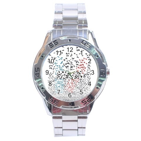 Twenty One Pilots Birds Stainless Steel Analogue Watch