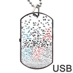 Twenty One Pilots Birds Dog Tag USB Flash (Two Sides)  Back