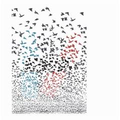 Twenty One Pilots Birds Small Garden Flag (two Sides)