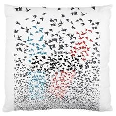 Twenty One Pilots Birds Large Cushion Case (two Sides)