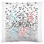 Twenty One Pilots Birds Large Cushion Case (Two Sides) Back