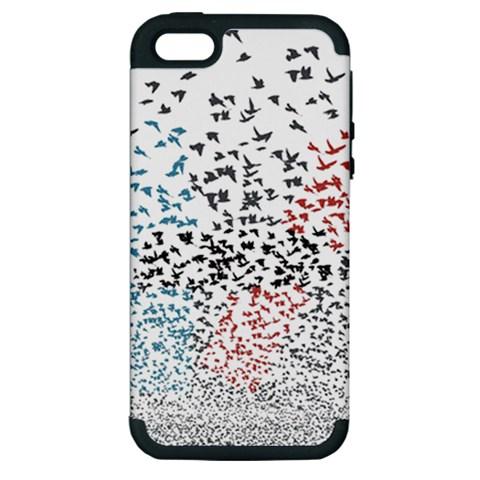 Twenty One Pilots Birds Apple iPhone 5 Hardshell Case (PC+Silicone)