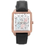 Twenty One Pilots Birds Rose Gold Leather Watch  Front