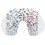 Twenty One Pilots Birds Travel Neck Pillows Back