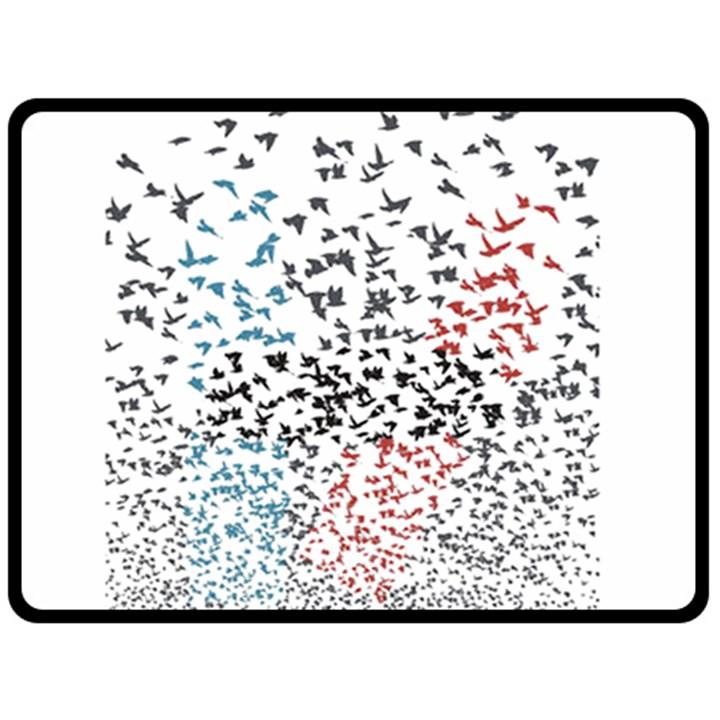 Twenty One Pilots Birds Double Sided Fleece Blanket (Large)