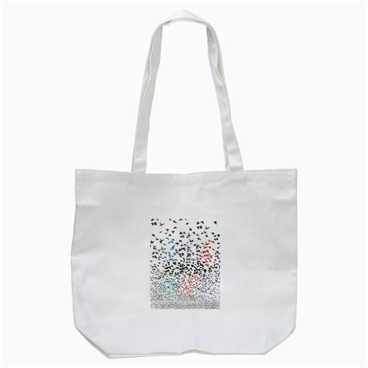 Twenty One Pilots Birds Tote Bag (White)