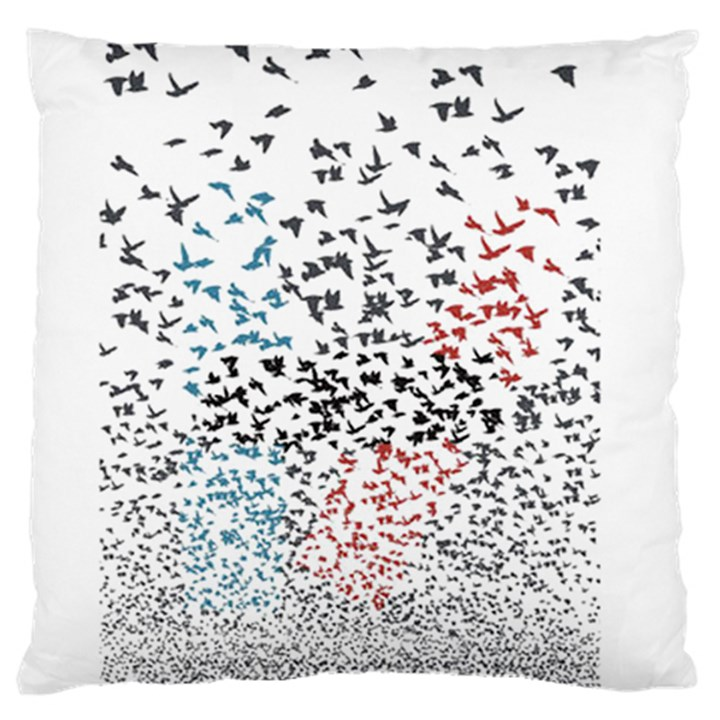 Twenty One Pilots Birds Standard Flano Cushion Case (Two Sides)