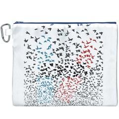Twenty One Pilots Birds Canvas Cosmetic Bag (xxxl)