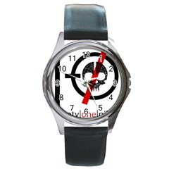 Twenty One Pilots Skull Round Metal Watch