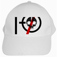 Twenty One Pilots Skull White Cap