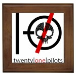 Twenty One Pilots Skull Framed Tiles Front