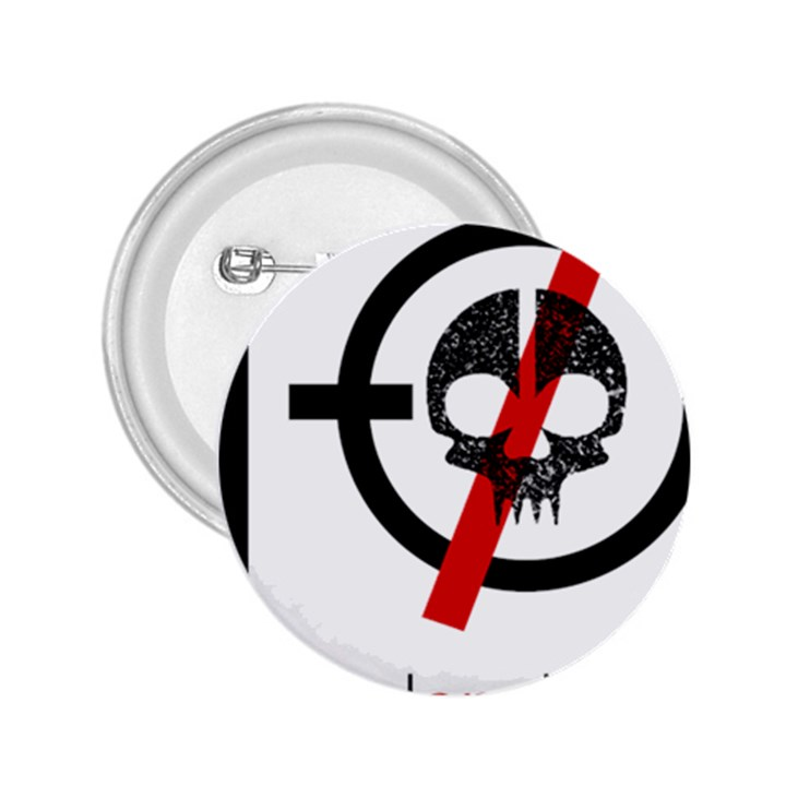 Twenty One Pilots Skull 2.25  Buttons