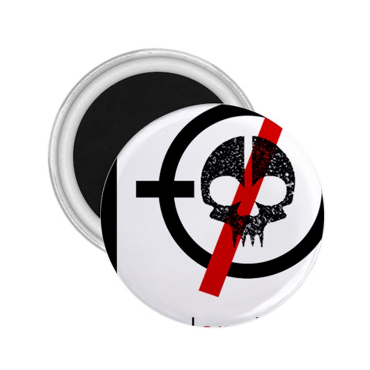 Twenty One Pilots Skull 2.25  Magnets