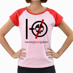 Twenty One Pilots Skull Women s Cap Sleeve T-Shirt