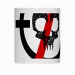 Twenty One Pilots Skull White Mugs Center