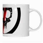 Twenty One Pilots Skull White Mugs Right