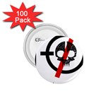 Twenty One Pilots Skull 1.75  Buttons (100 pack)  Front