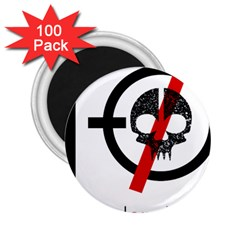 Twenty One Pilots Skull 2.25  Magnets (100 pack)