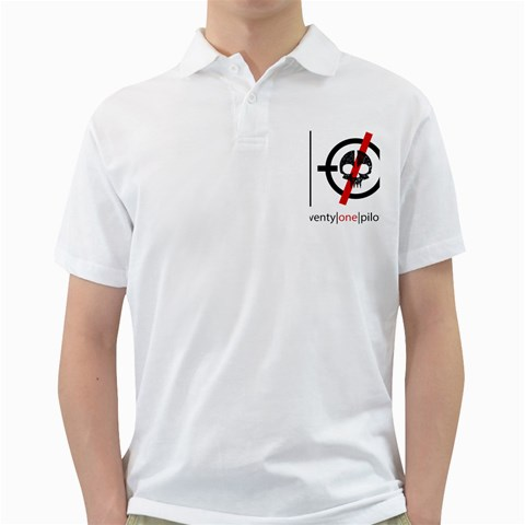 Twenty One Pilots Skull Golf Shirts