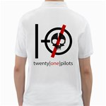 Twenty One Pilots Skull Golf Shirts Back