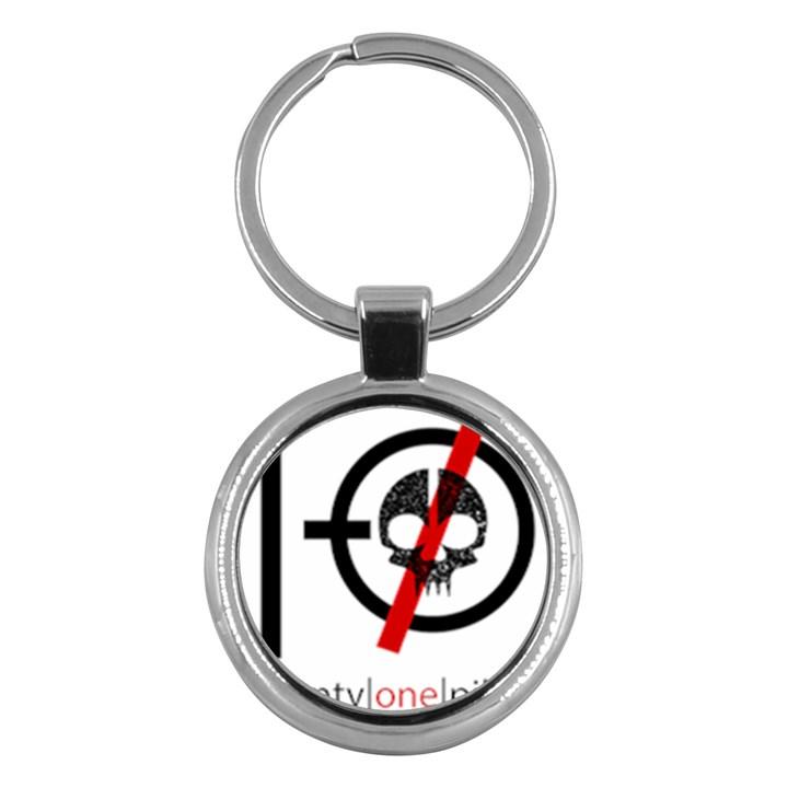 Twenty One Pilots Skull Key Chains (Round)