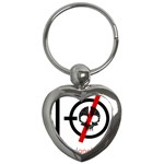 Twenty One Pilots Skull Key Chains (Heart)  Front