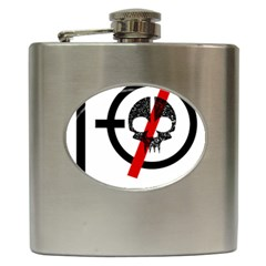 Twenty One Pilots Skull Hip Flask (6 oz)