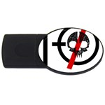 Twenty One Pilots Skull USB Flash Drive Oval (2 GB)  Front