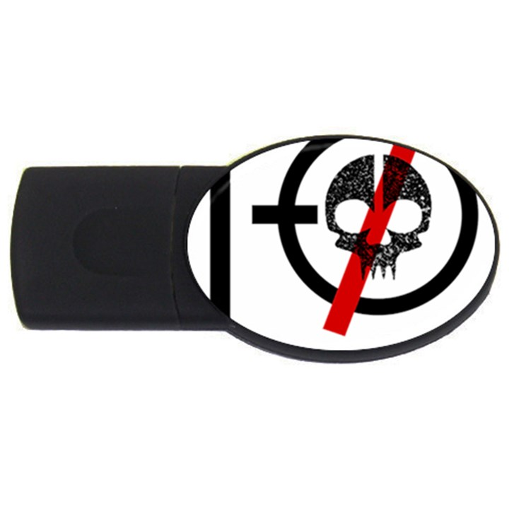Twenty One Pilots Skull USB Flash Drive Oval (2 GB)