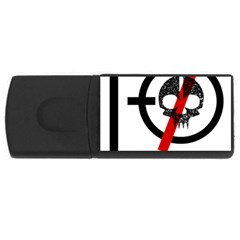 Twenty One Pilots Skull USB Flash Drive Rectangular (1 GB)