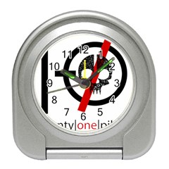 Twenty One Pilots Skull Travel Alarm Clocks