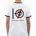 Twenty One Pilots Skull Ringer T-Shirts Back