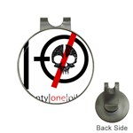 Twenty One Pilots Skull Hat Clips with Golf Markers Front