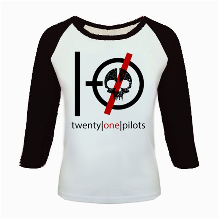 Twenty One Pilots Skull Kids Baseball Jerseys